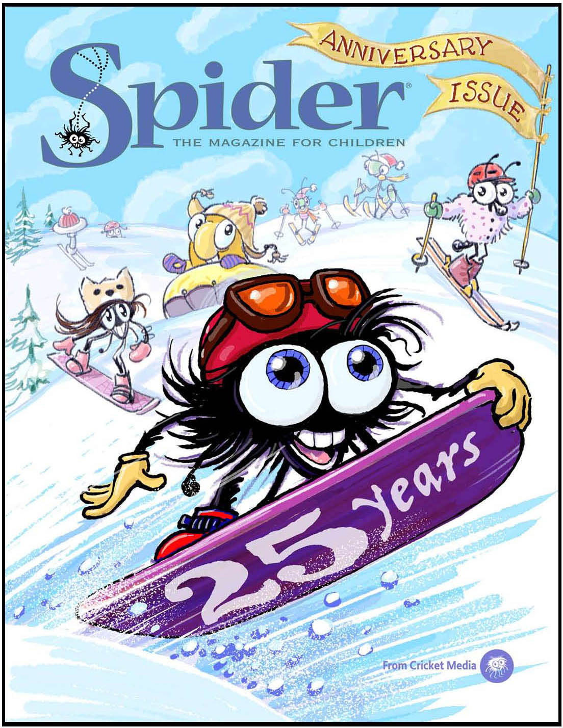Spider Magazine cover Jan 2019