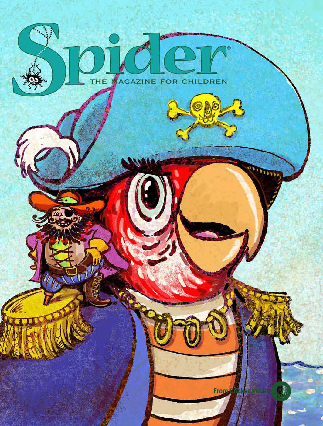 Spider Magazine Cover Sept 2018
